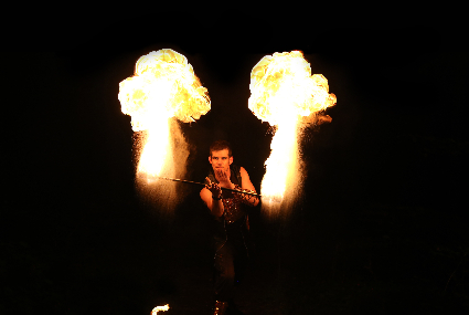 Glowballz Vuurshow BurnOff-Staff (2)